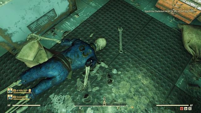 Fallout 76 Vault 63 Glitch