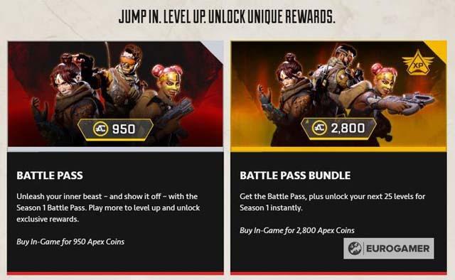 Battle Pass Cost