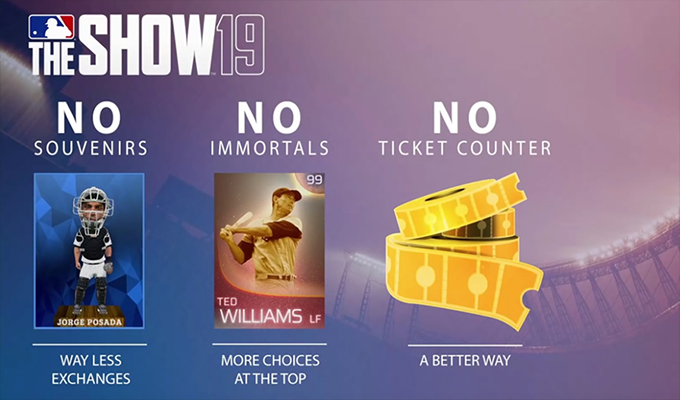 Diamond Dynasty Features in MLB The Show 19