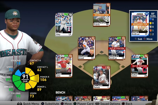 MLB The Show 19 players