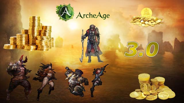 How To Farm Gold Fast And Easy In ArcheAge