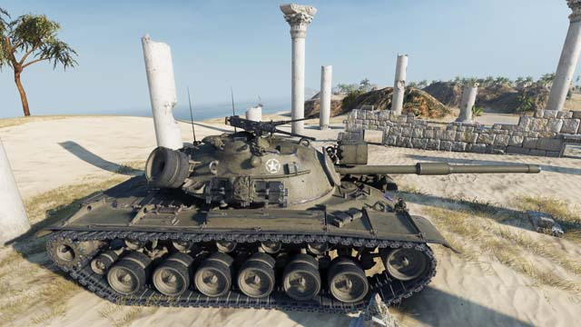 The M48 Patton
