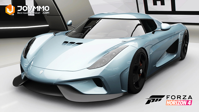 Koenigsegg Regera How to choose the best or the fastest car in Forza Horizon 4?