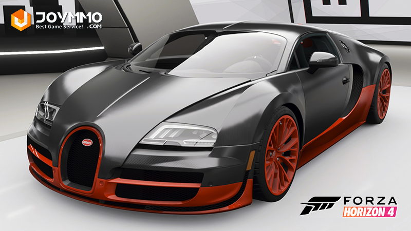 Bugatti Veyron Super Sport How to choose the best or the fastest car in Forza Horizon 4?