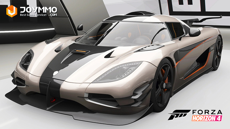 Koenigsegg One:1 How to choose the best or the fastest car in Forza Horizon 4?