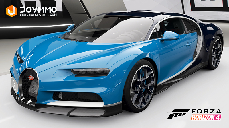 Bugatti Chiron How to choose the best or the fastest car in Forza Horizon 4?