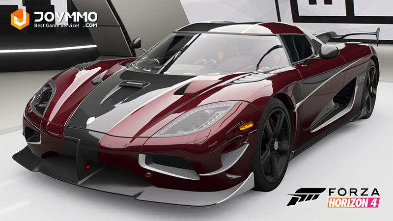 Koenigsegg Agera RS How to choose the best or the fastest car in Forza Horizon 4?