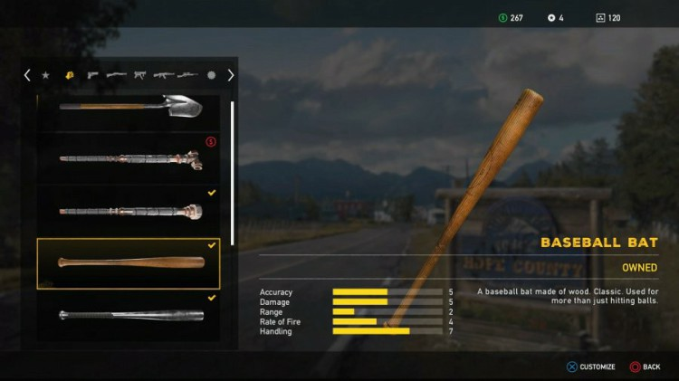 Far Cry 5 Guide Far Cry 5 Weapons List All Unlockable Melee