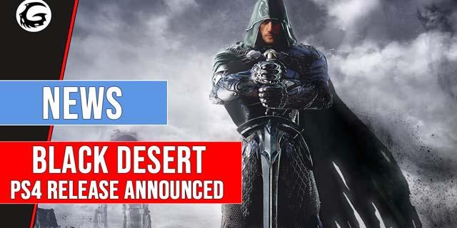 Black Desert Online is Coming to PS 4 And Black Desert