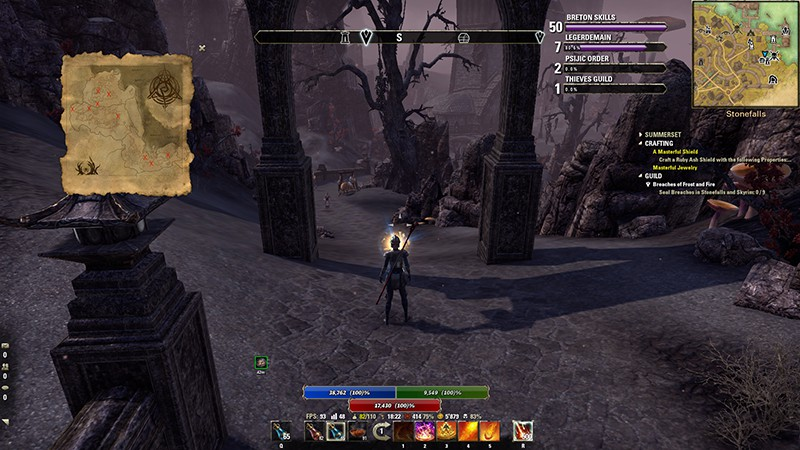 The Most Useful Add-Ons In Elder Scrolls Online