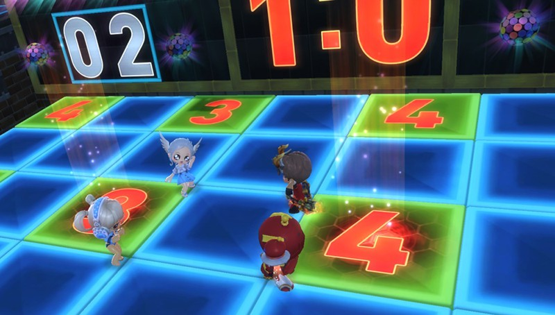 Dance Dance Stop is one of MapleStory 2's best mini-games