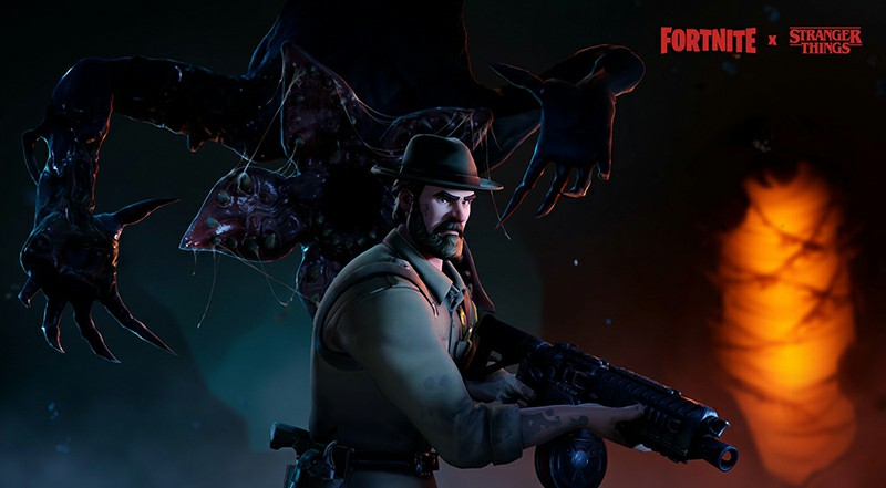 Fortnite x Stranger Things Is Now Live And The New Skins Have Leaked