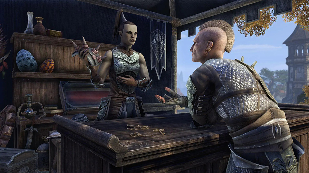 Elder Scrolls Online Will Be Changing How Undaunted Key, Guild Traders, And Crafting Works In Update 23
