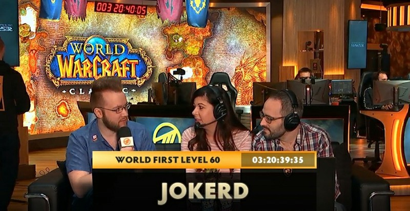 92-Hour Cap: World Of Warcraft Classic, Jokerd Rushes To
