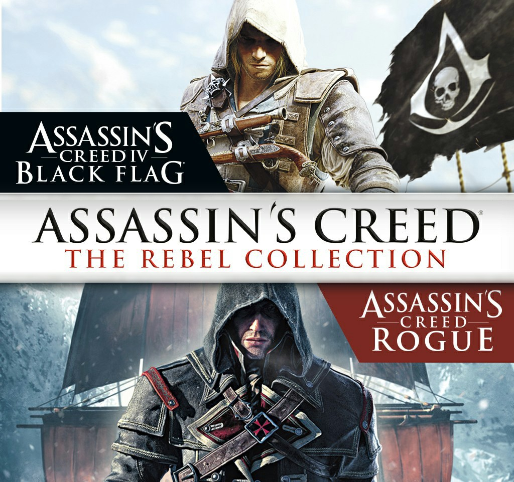 Assassin's Creed Rebel Collection Announced Exclusively for Nintendo Switch; Includes AC: Black Flag and AC: Rogue