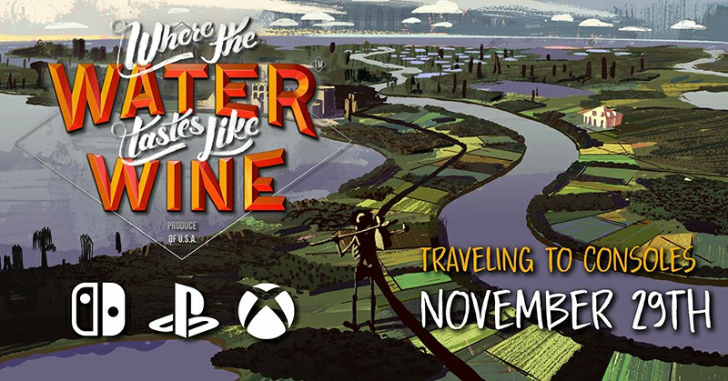PS4, Xbox One, And Switch Are Getting Indie Narrative Adventure Where The Water Tastes Like Wine Very Soon