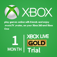 Buy Xbox Live 14 Days Trial Gold, Cheap Xbox 360/One Membership Card